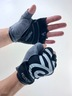 Reflective Short-Finger Sports Gloves (L)
