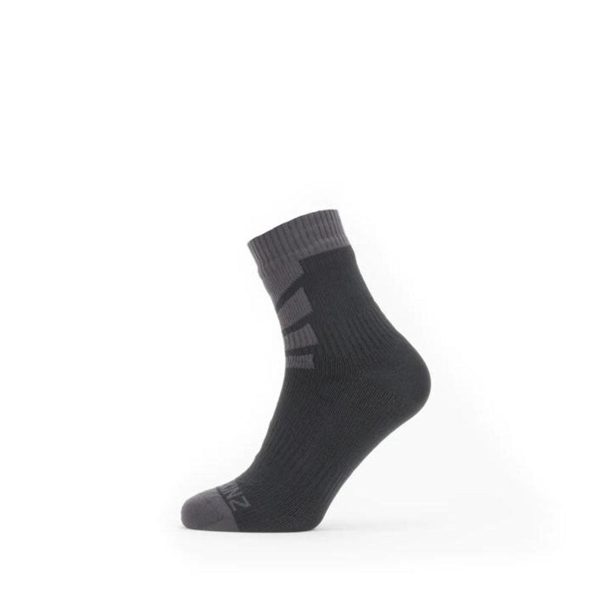 Warm Weather Ankle Black/Grey