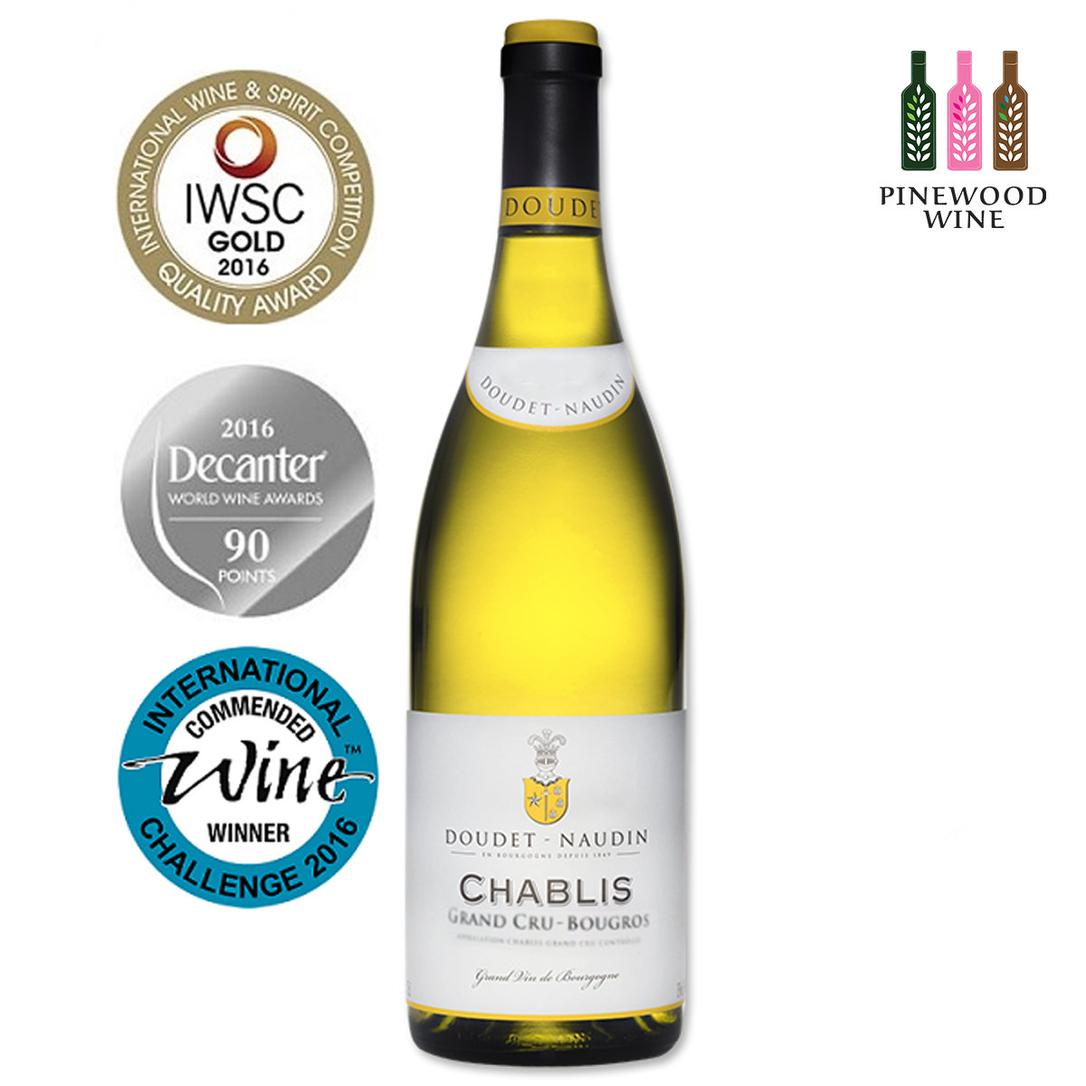 Chablis Grand Cru Bougros 2016
