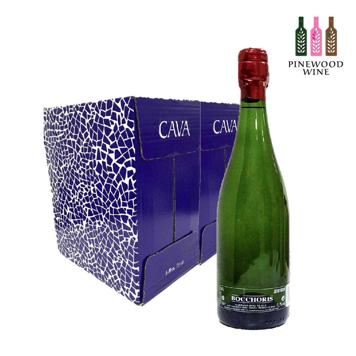 [原箱] Semi Seco Cava (微甜)復古西班牙博塞里斯卡瓦氣泡酒 750ml x 6 x 2