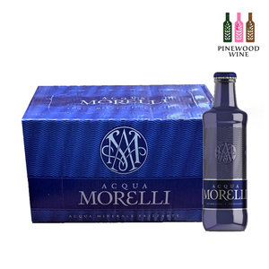 [Full Case] Premium Mineral Water, Sparkling (Glass Bottle) 250ml x 24