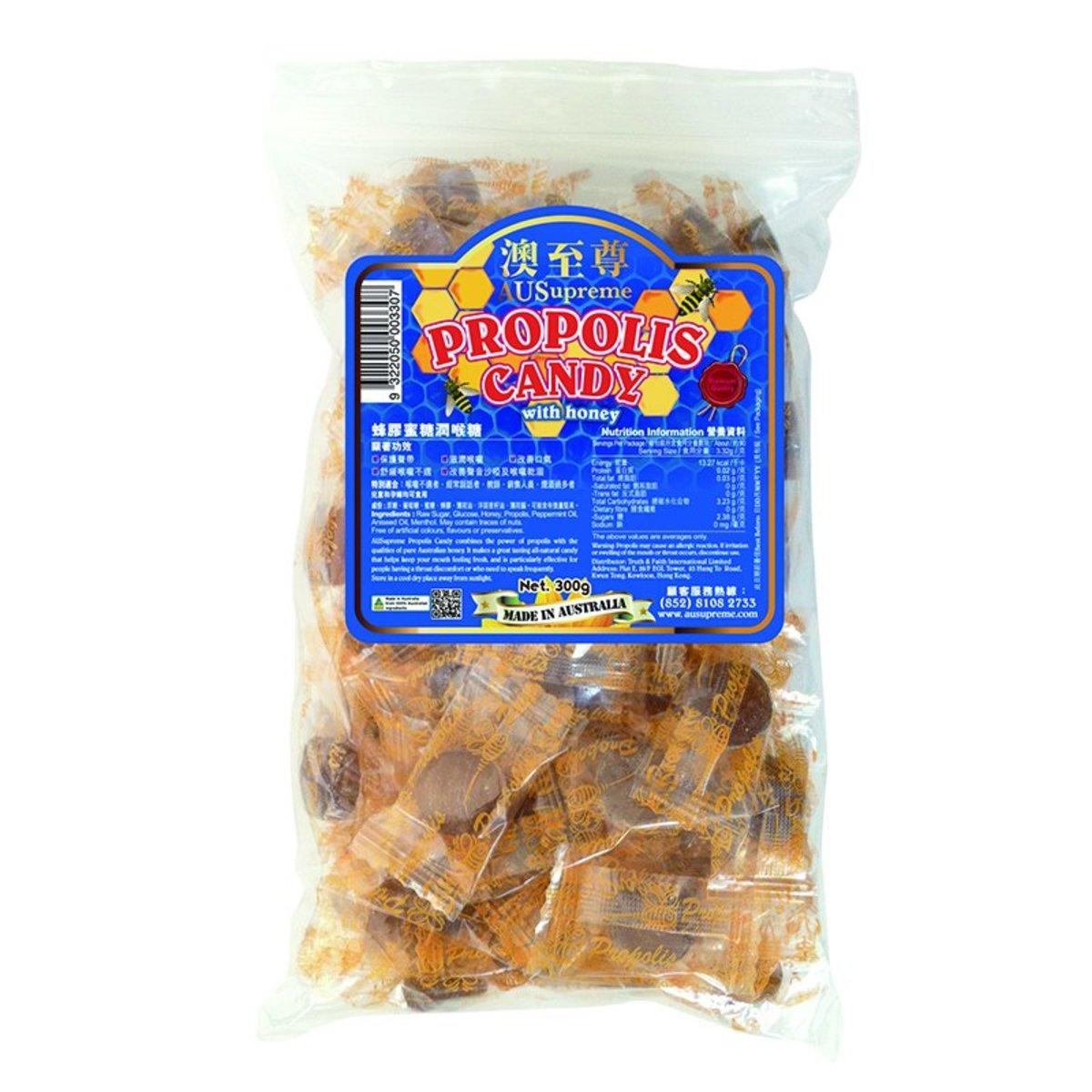 蜂膠蜜糖潤喉糖300g(包)