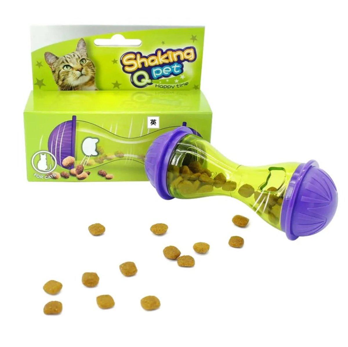 貓狗玩具 骨頭造型漏食玩具
