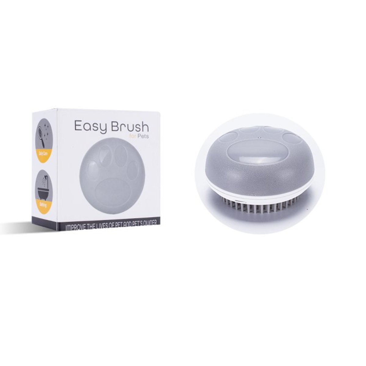 Pet Multifunctional massage brush for removing dead hair and flea for cat and dog