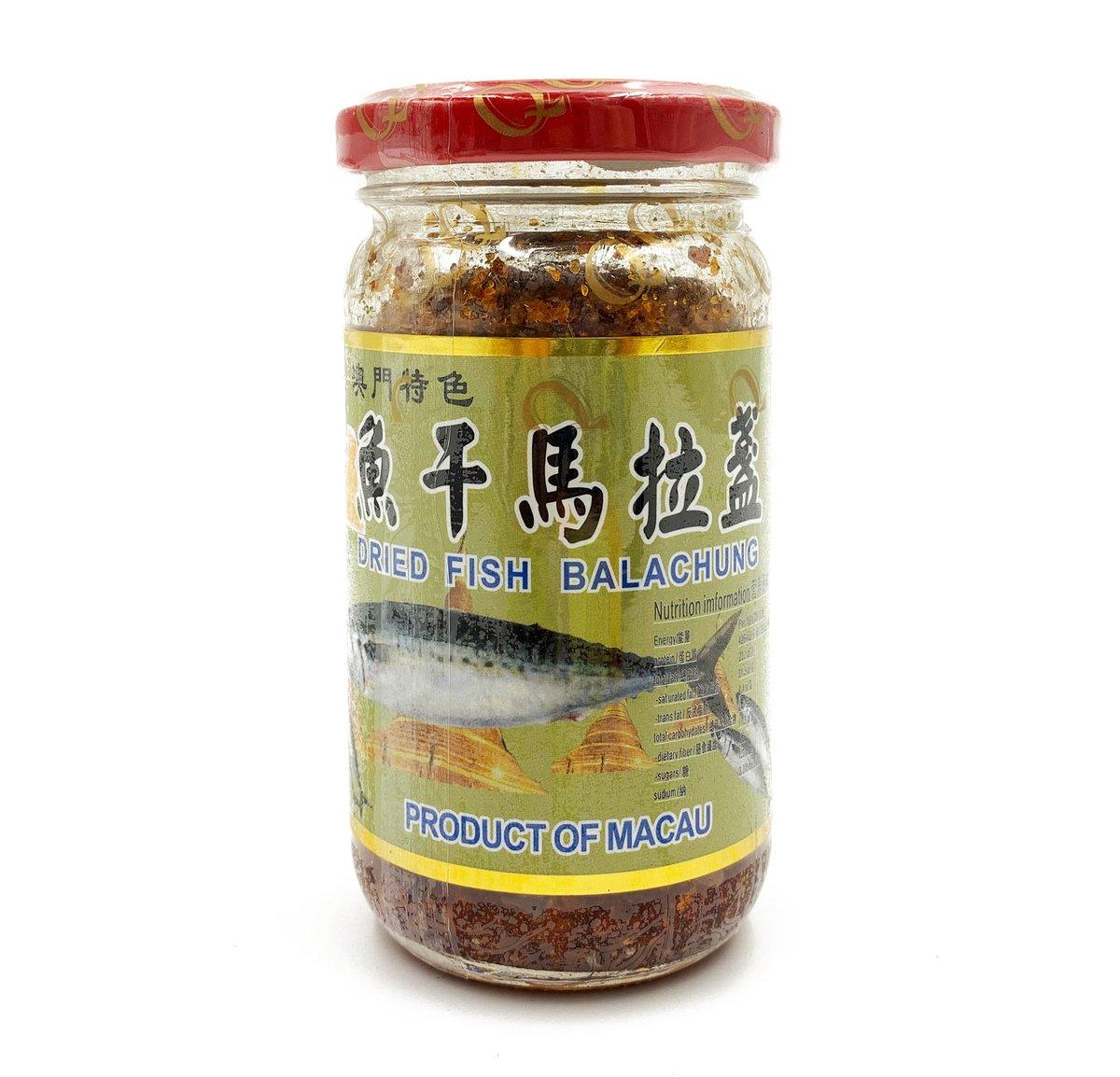Qq Food World Dried Fish Balachung Spicy Favor 150g Made In Macau Hktvmall Online Shopping