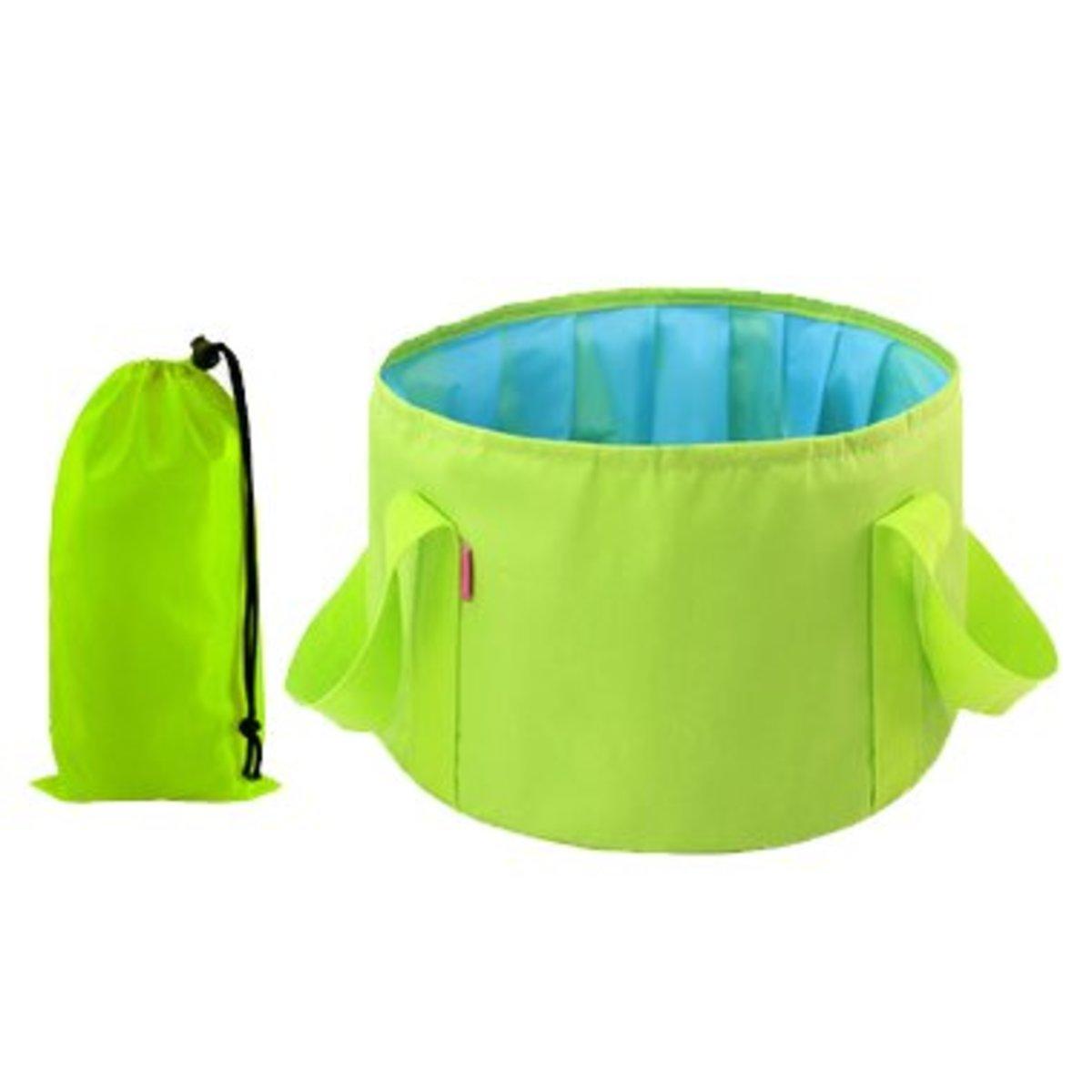 Outdoor portable folding basin, soaked footbasin washbasin