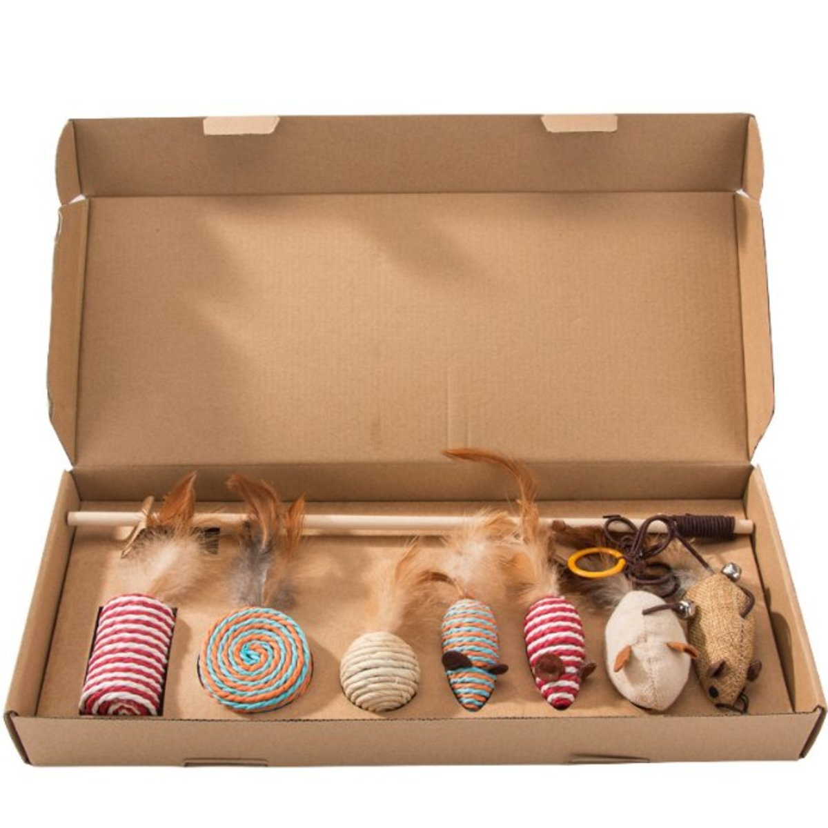 Cat toy set (7 toys in one pack)