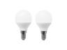 LED 5W Globe Light Bulb (E14 Daylight) 2 in 1