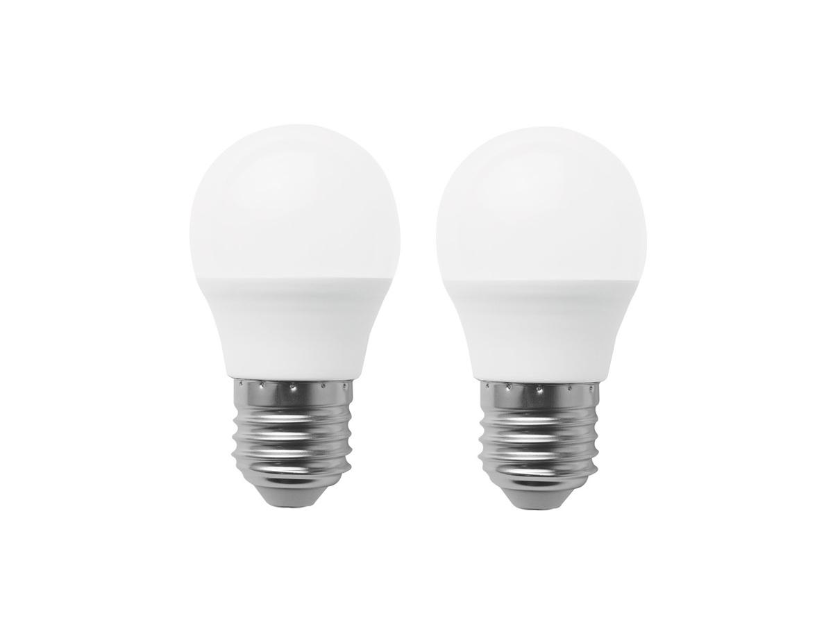 LED 5W 球膽 球泡 燈泡 球形膽 (E27大螺頭白光) 孖裝 二合一 套裝