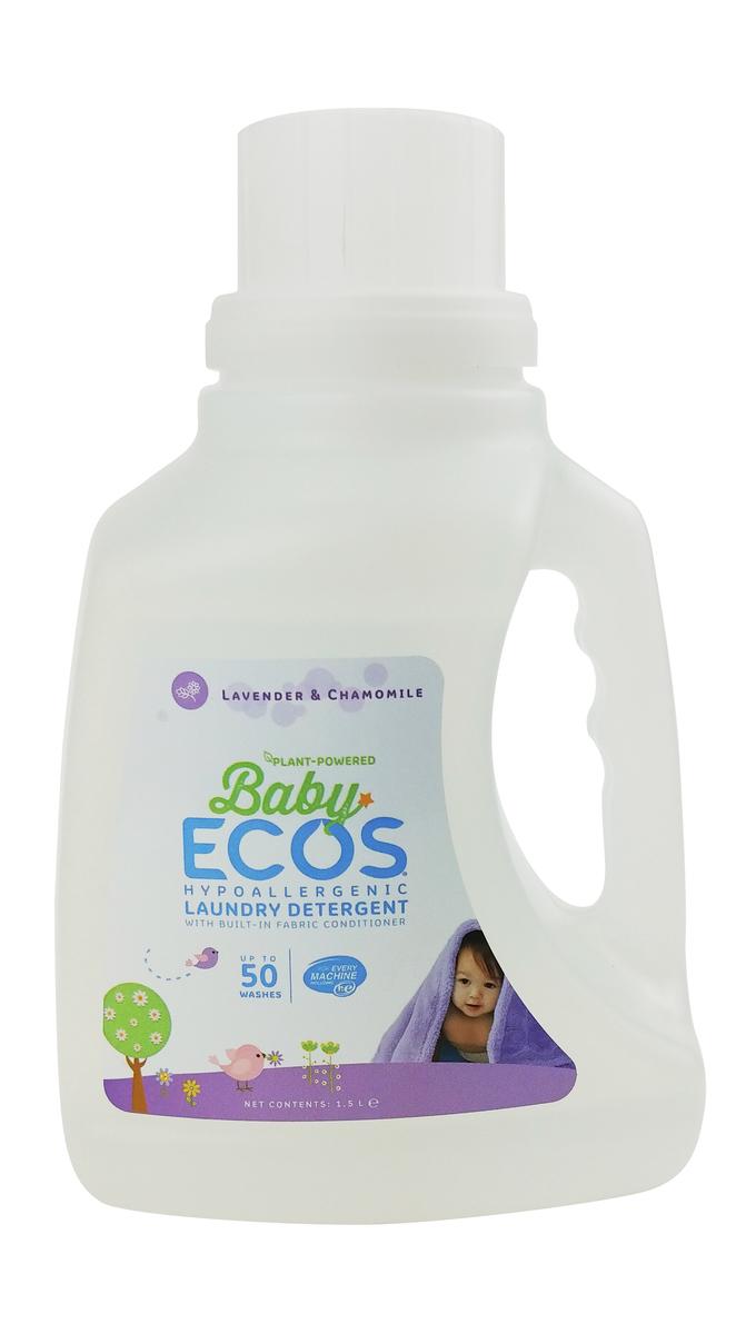ECOS 嬰兒衣物環保洗潔液