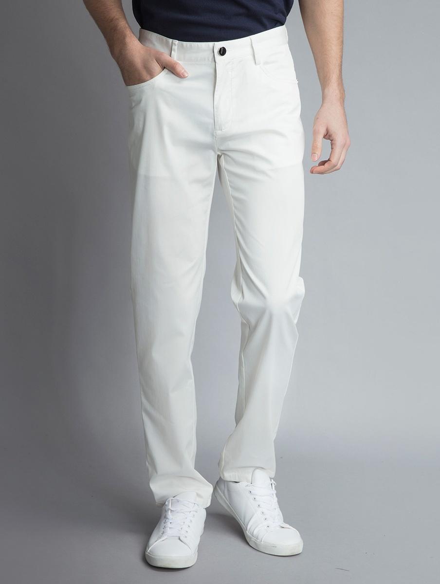 棉混紡休閒褲