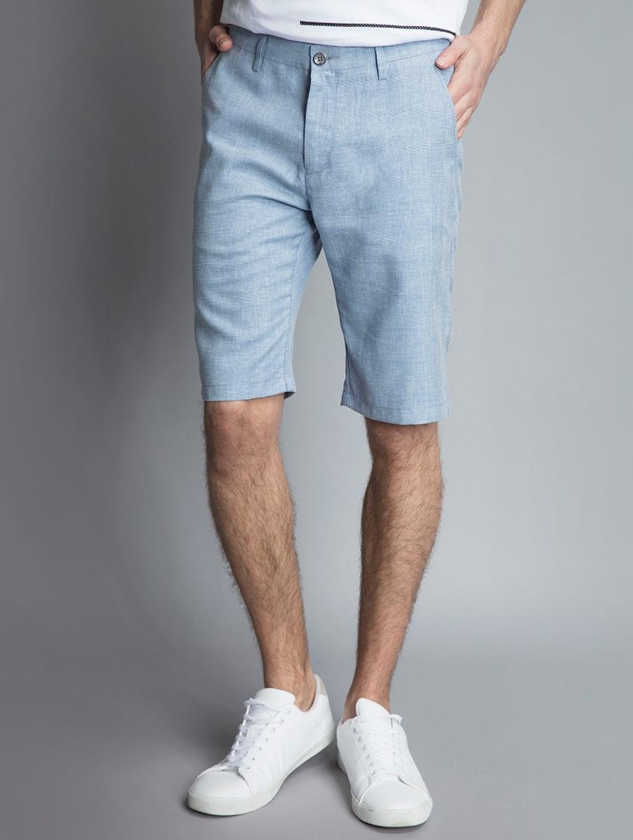 聚酯纖維混紡休閒短褲