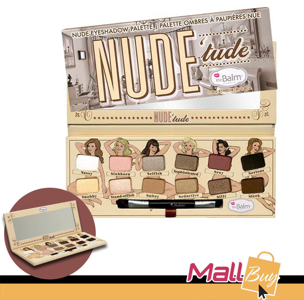 Nude Tude Eyeshadow Palette-裸色眼影彩妝組合