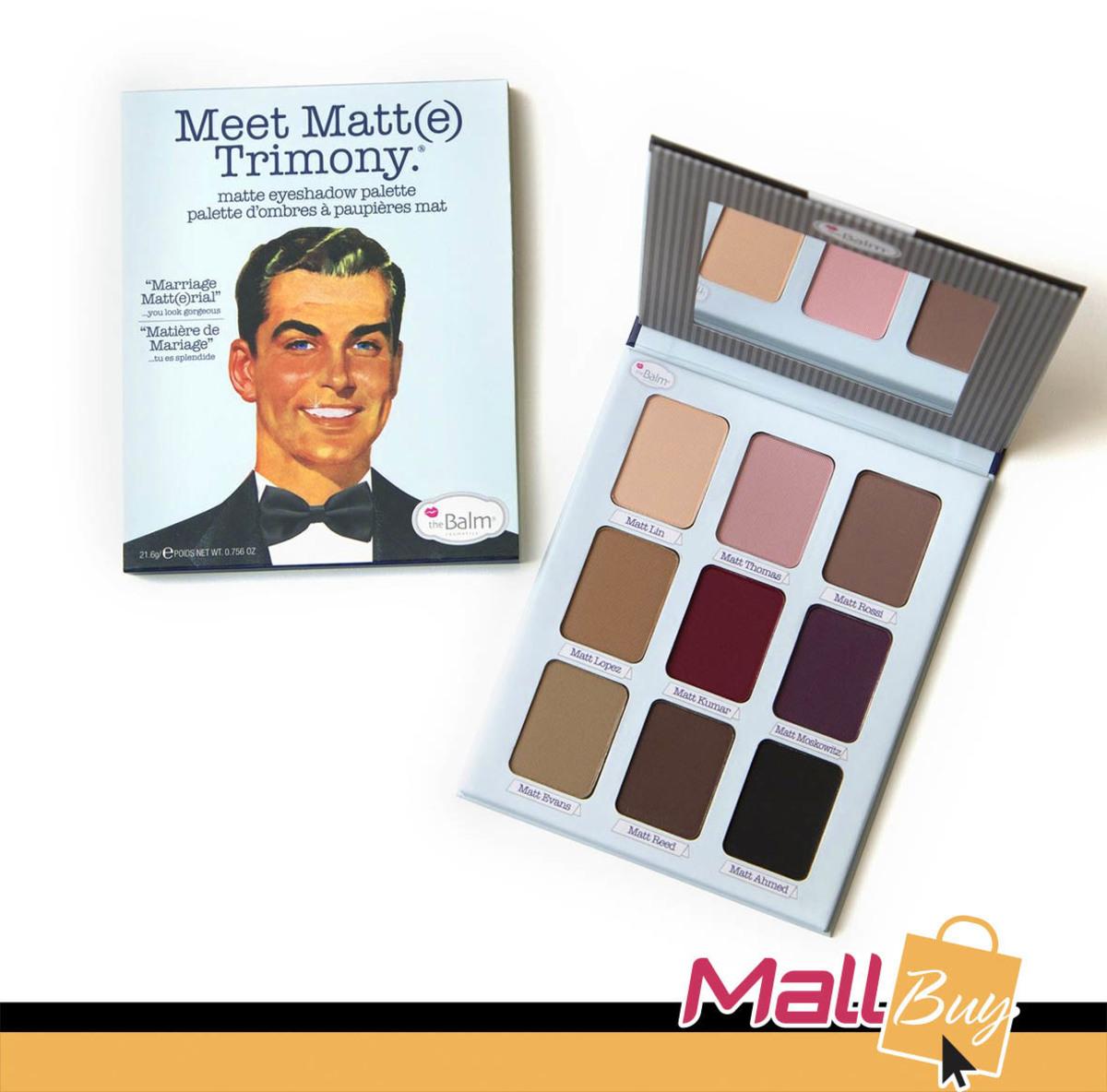 Meet Matt(e) Trimony Eyeshadow Palette