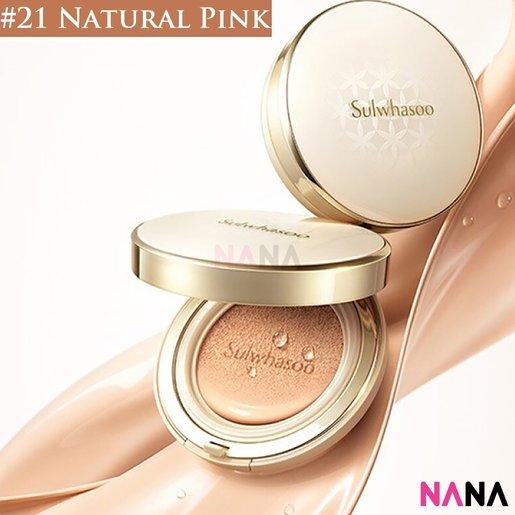 Perfecting Cushion EX SPF50+/ PA+++ #21 Natural Pink (15g + 15g Refill)