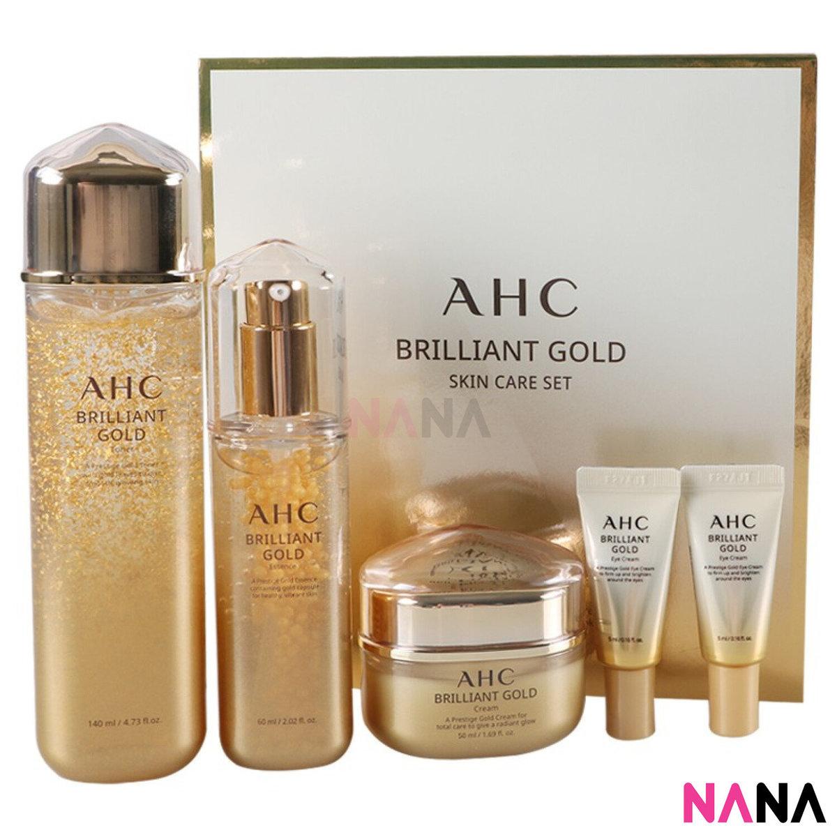 Brilliant Gold Skin Care 3 Set