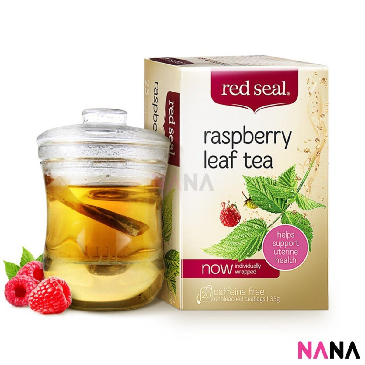 紅印 覆盆子茶 暖宮助產月子茶 20包