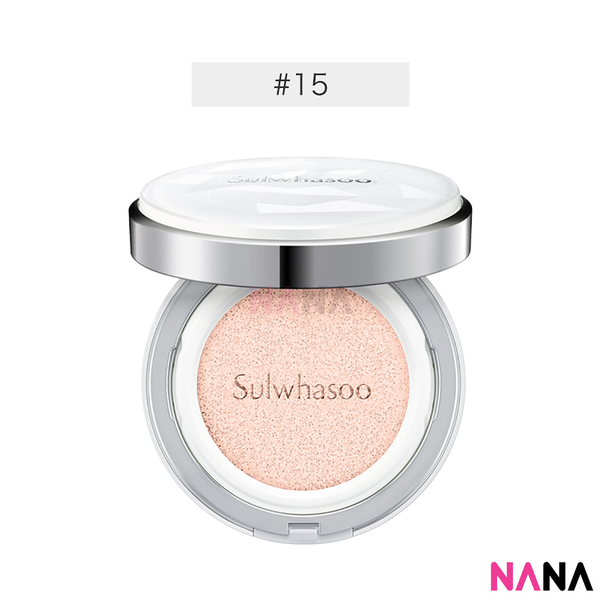 Snowise Brightening Cushion SPF50+/PA+++ #15 Ivory Pink (14g + Refill)