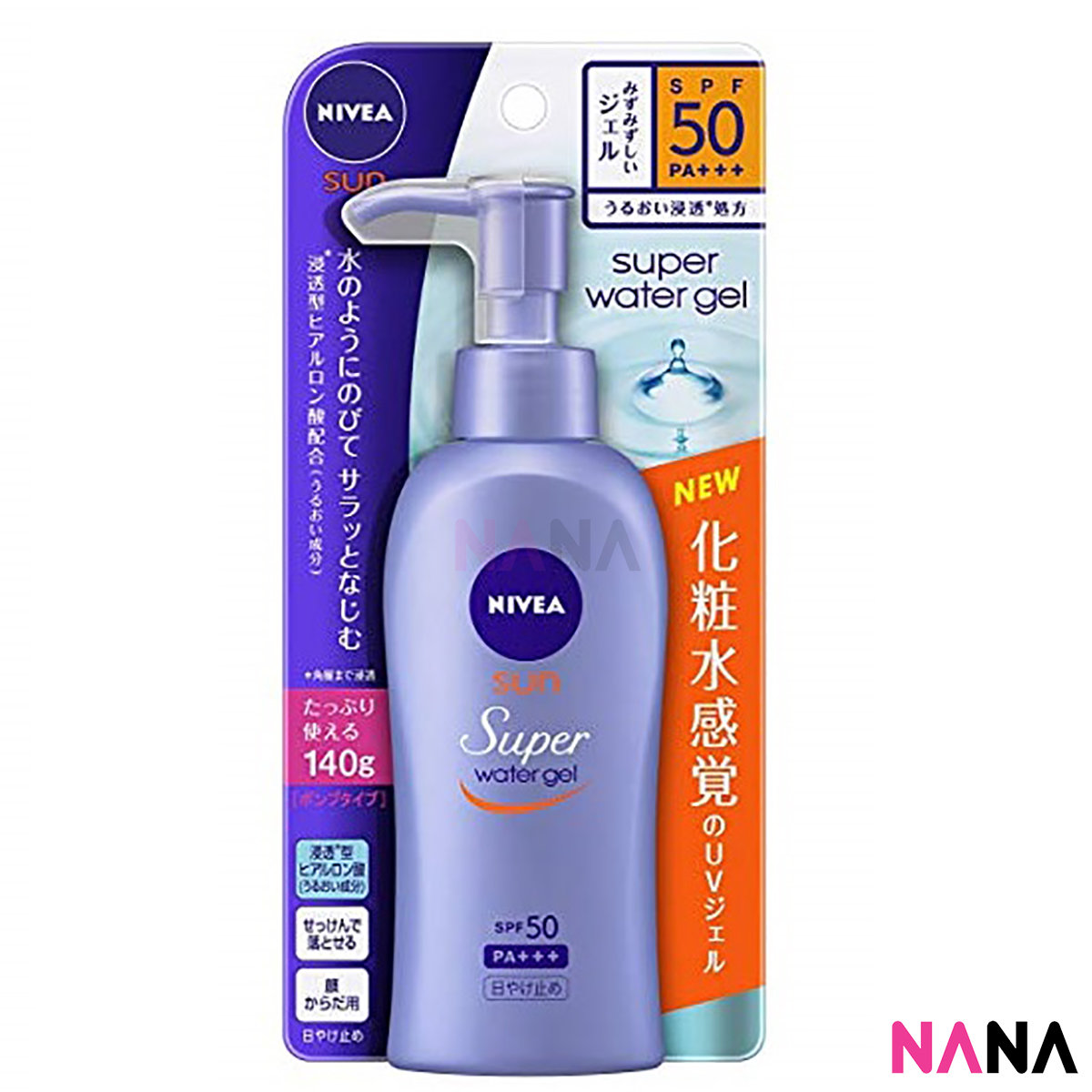 Super Water Gel Sunscreen SPF50 PA+++ 140g