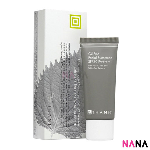 Oil Free Facial Sunscreen SPF30 PA+++ With Nono Shiso And White Tea Extracts 40g
