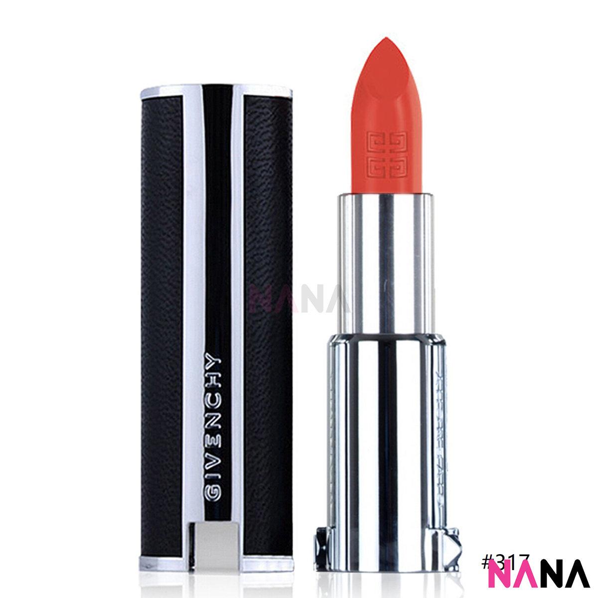 Le Rouge Intense Color Sensuously Mat Lip Color #317 Corail Signature 3.4g