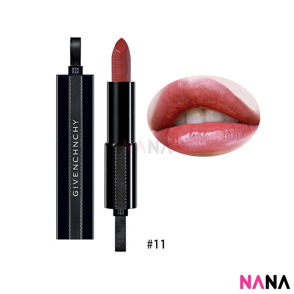 Rouge Interdit Satin Lipstick Comfort & Hold Illicit Color #11 Orange Undergound 3.4g