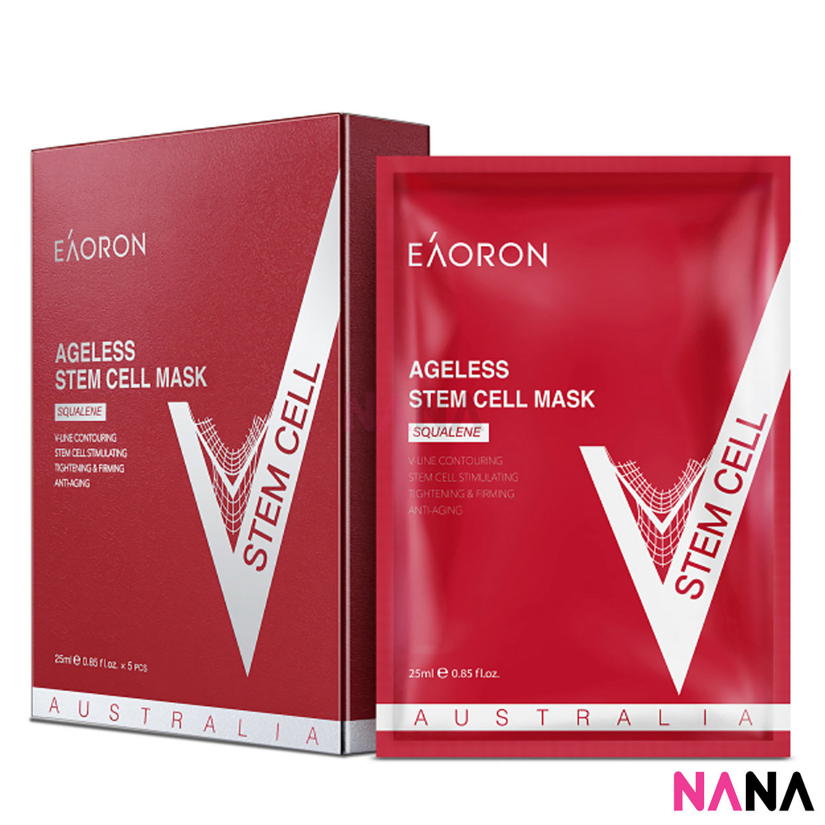 Ageless Stem Cell Mask (5 Sheets/ Box) [Brand Authorized Reseller]