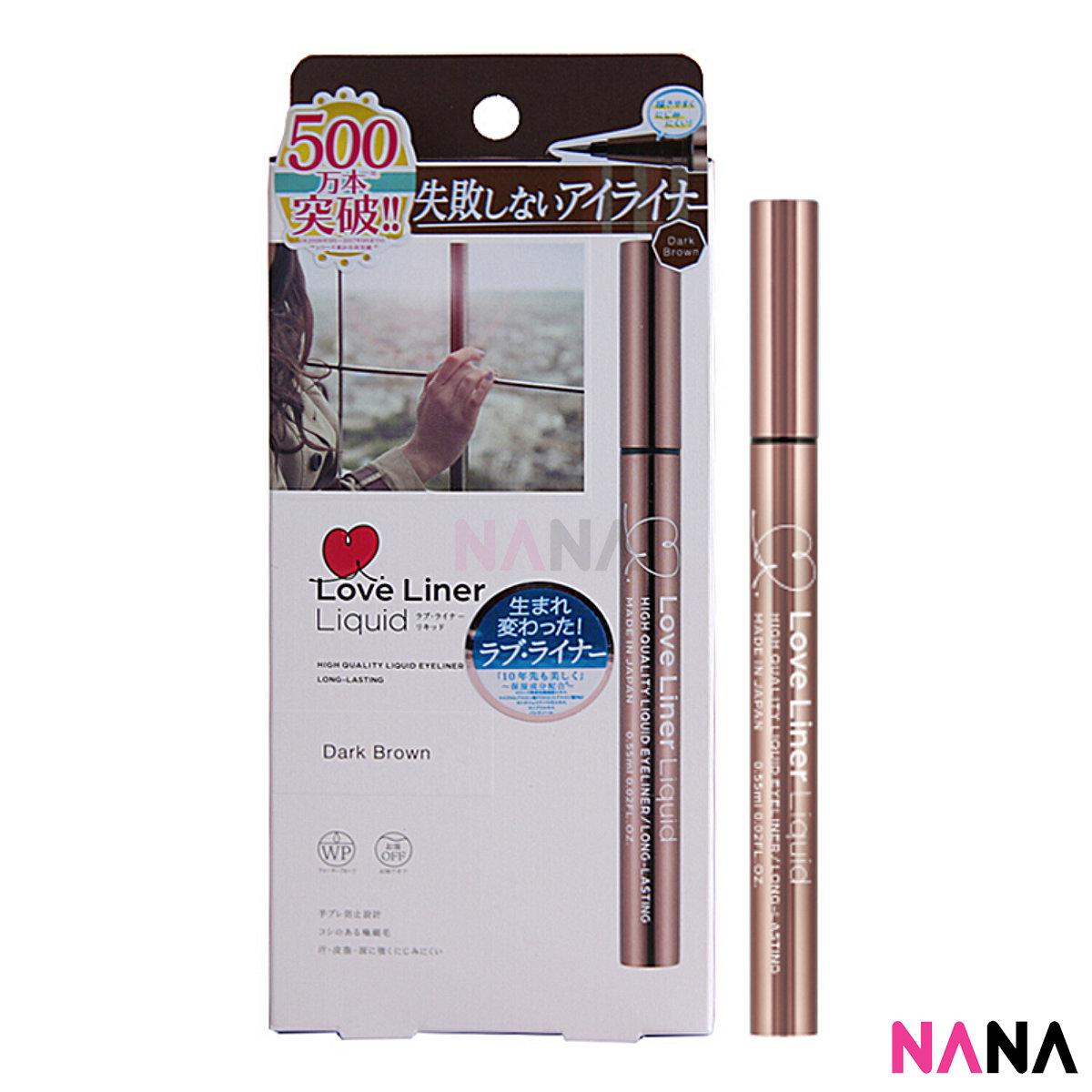 Love Liner 2018 Liquid Eyeliner 0.55ml - Dark Brow