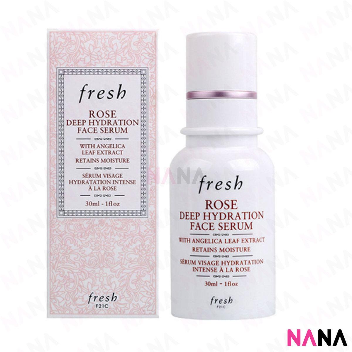 Rose Deep Hydration Face Serum 30ml