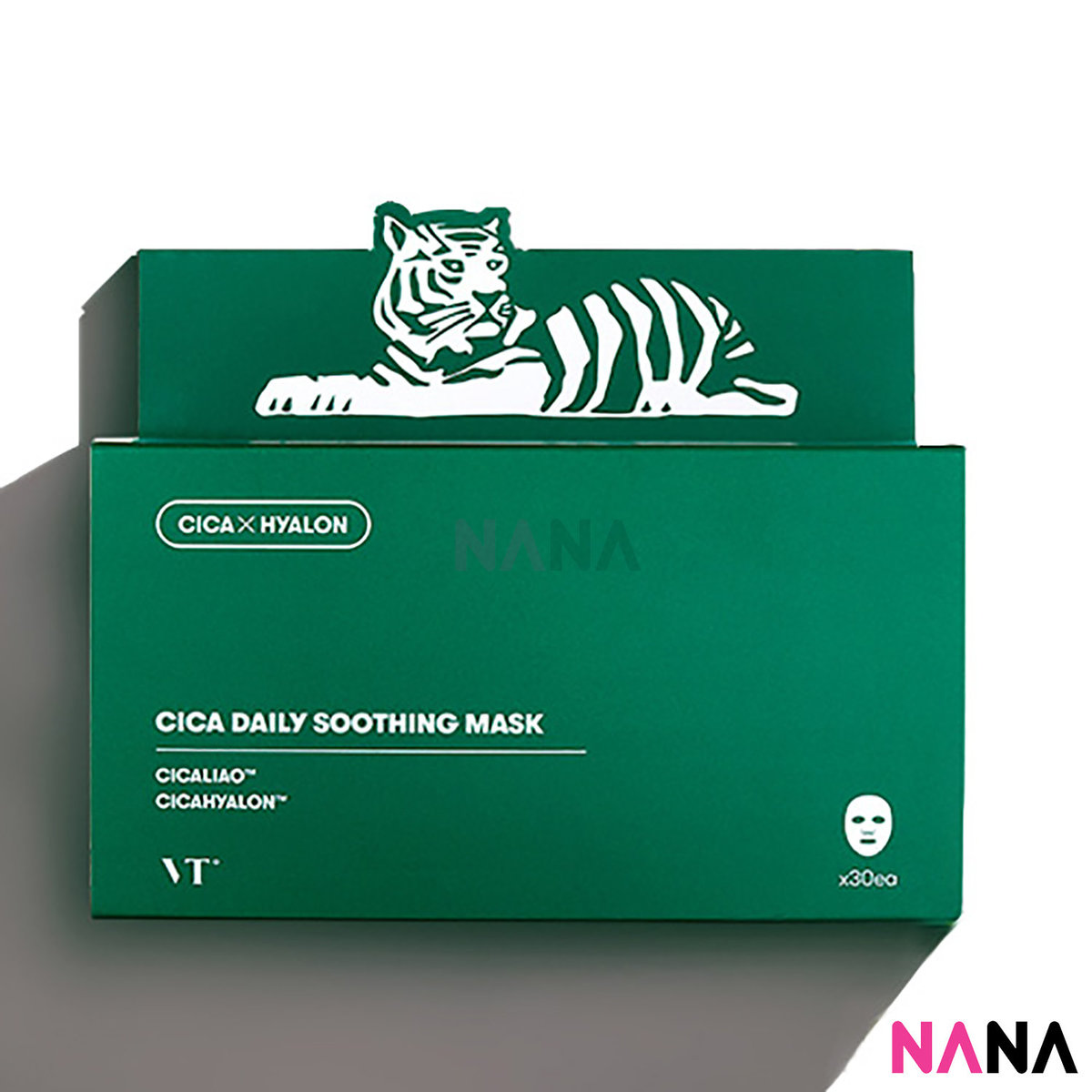 CICA Daily Soothing Mask 30 Sheets/box