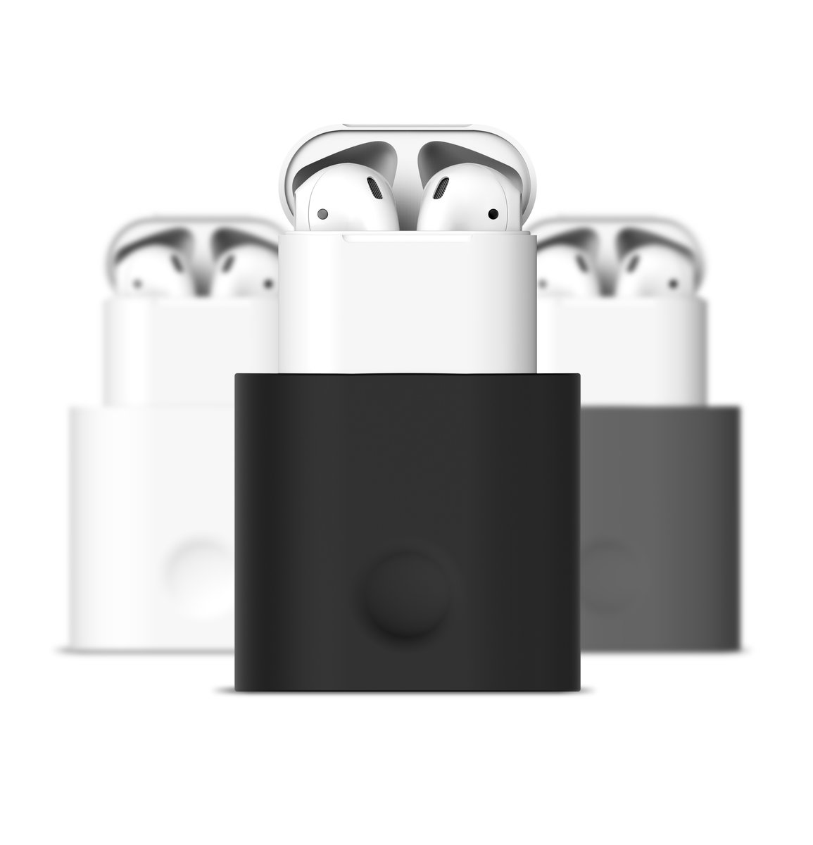 Apple AirPods 1/2 Charging Stand Cable Management Station