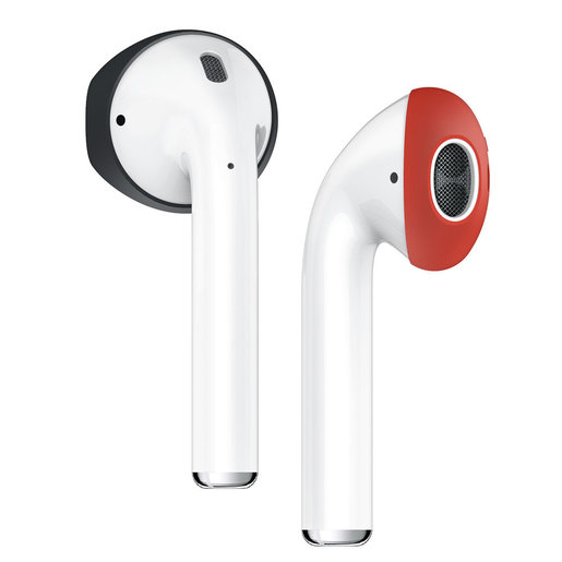 0.2mm Super Slim Earpiece Case for AirPods 1/2 Secure Fit Cover (2 Pairs)