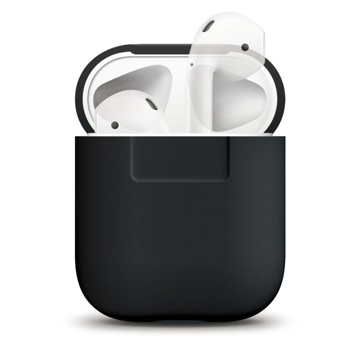 Silicone Cover for Apple AirPods 1/2 Charging Case Front LED Not Visible Supports Wireless Charging