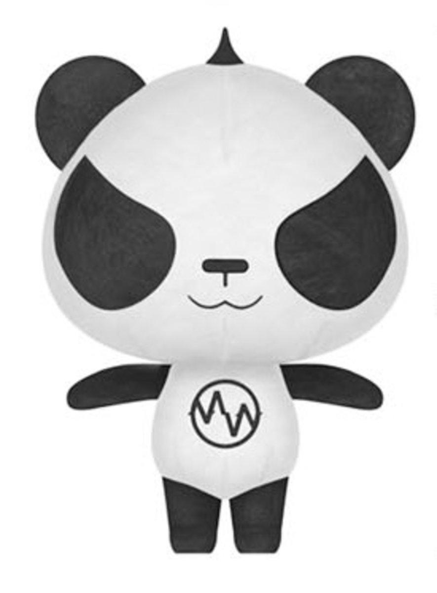 限量版Punk Panda 公仔