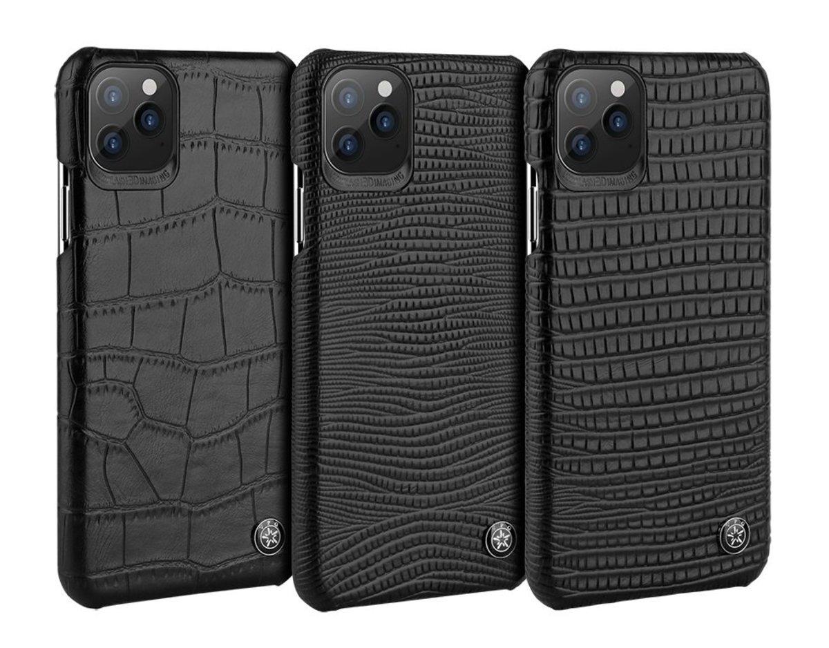 "iPhone 11 6.1"" Vegan Leather Pattern Phone Case Adelman Series"