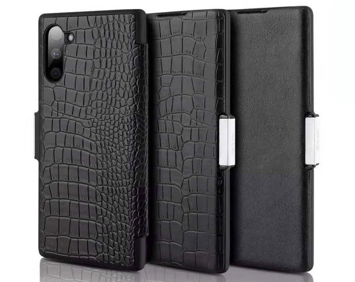Samsung Note 10 Plus Magnetic PU Leather Flip Case Aifa Series