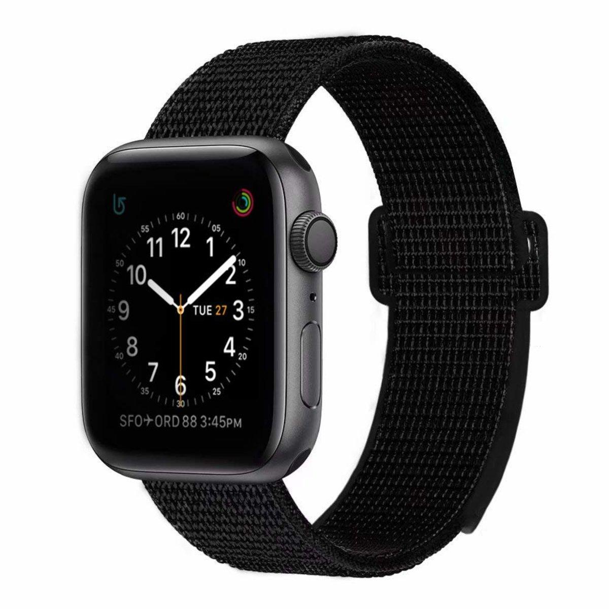 42mm/44mm適用透氣編織尼龍回環式運動錶帶 Apple Watch 1/2/3/4/5