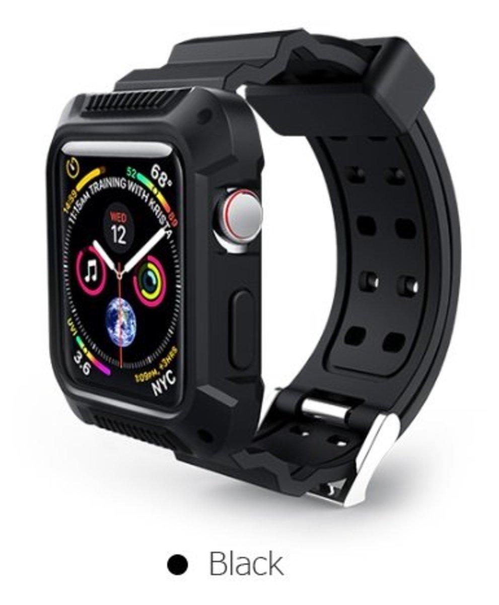 42mm 2合1 TPU運動錶帶連手錶保護邊框Apple Watch 1/2/3