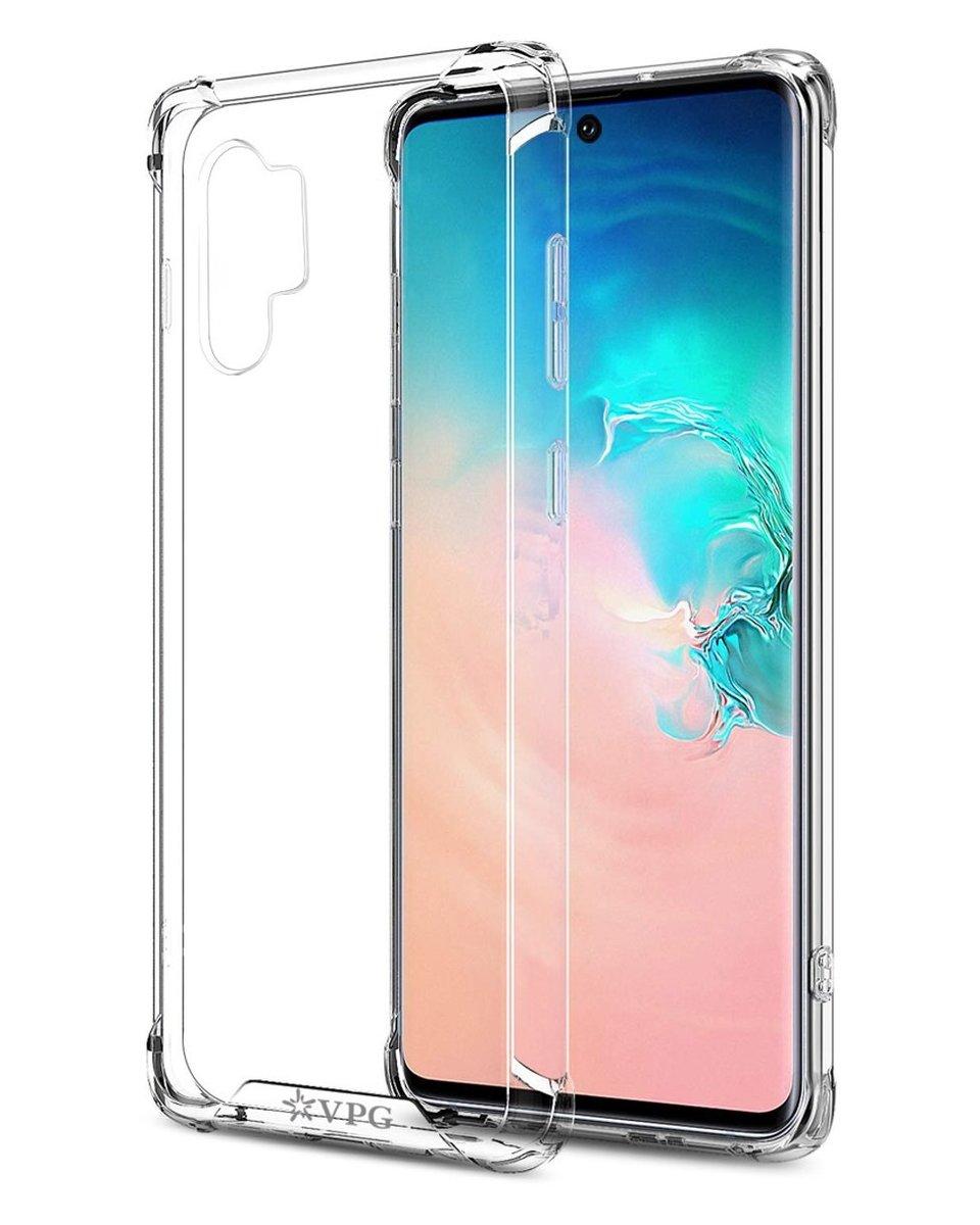 Samsung Note 10 Anti-Shock Transparent TPU Case Hollow Man Series