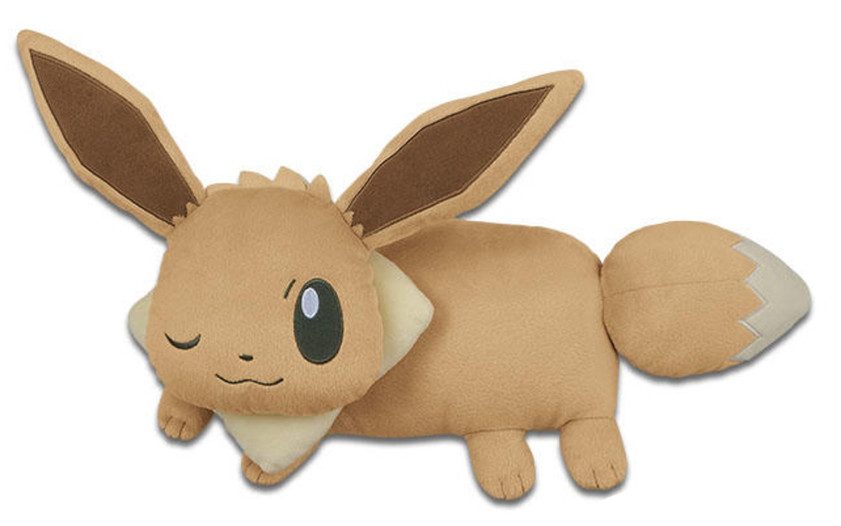 POKEMONLIFE WITH EEVEE EEVEE PILLOW-A
