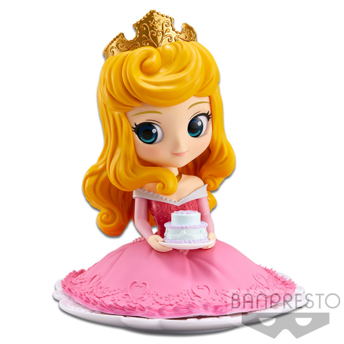 Q POSKET SUGIRLY DISNEY CHARACTERS-PRINCESS AURORA-(A:NORMAL COLOR VER)