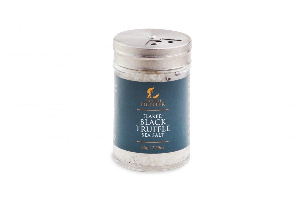 Flaked Black Truffle Sea Salt Shaker 65g