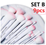 NEW! Cruelty Free Makeup Brushes Collection SET B-9 Piece