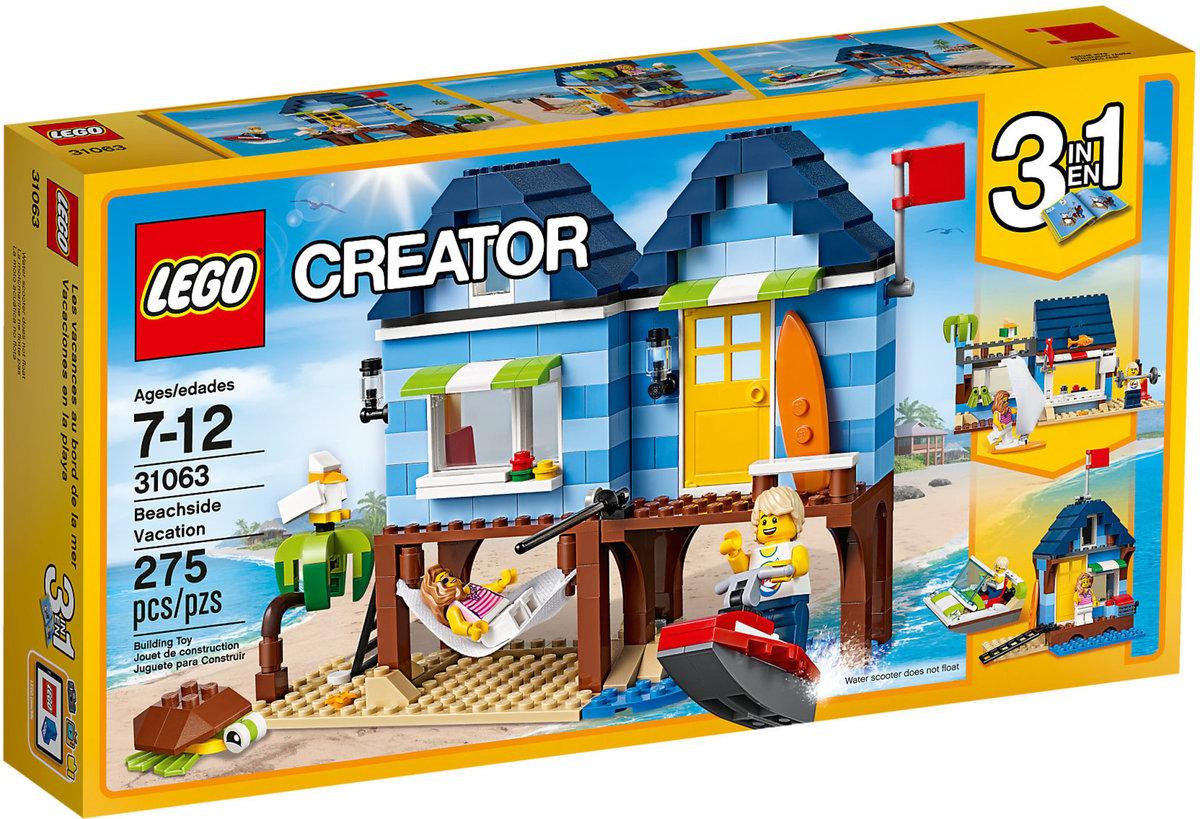 LEGO 31063 Creator 3-in-1 - Beachside Vacation
