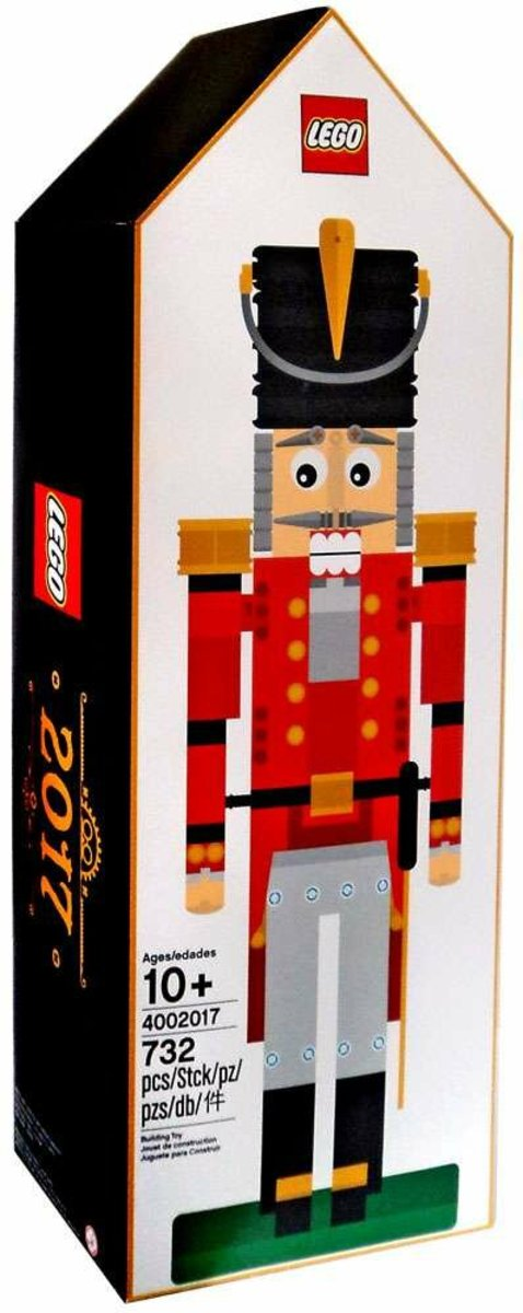 LEGO 4002017 Nutcracker Employee Christmas Gift