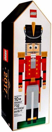 LEGO 4002017 Nutcracker Employee Christmas Gift