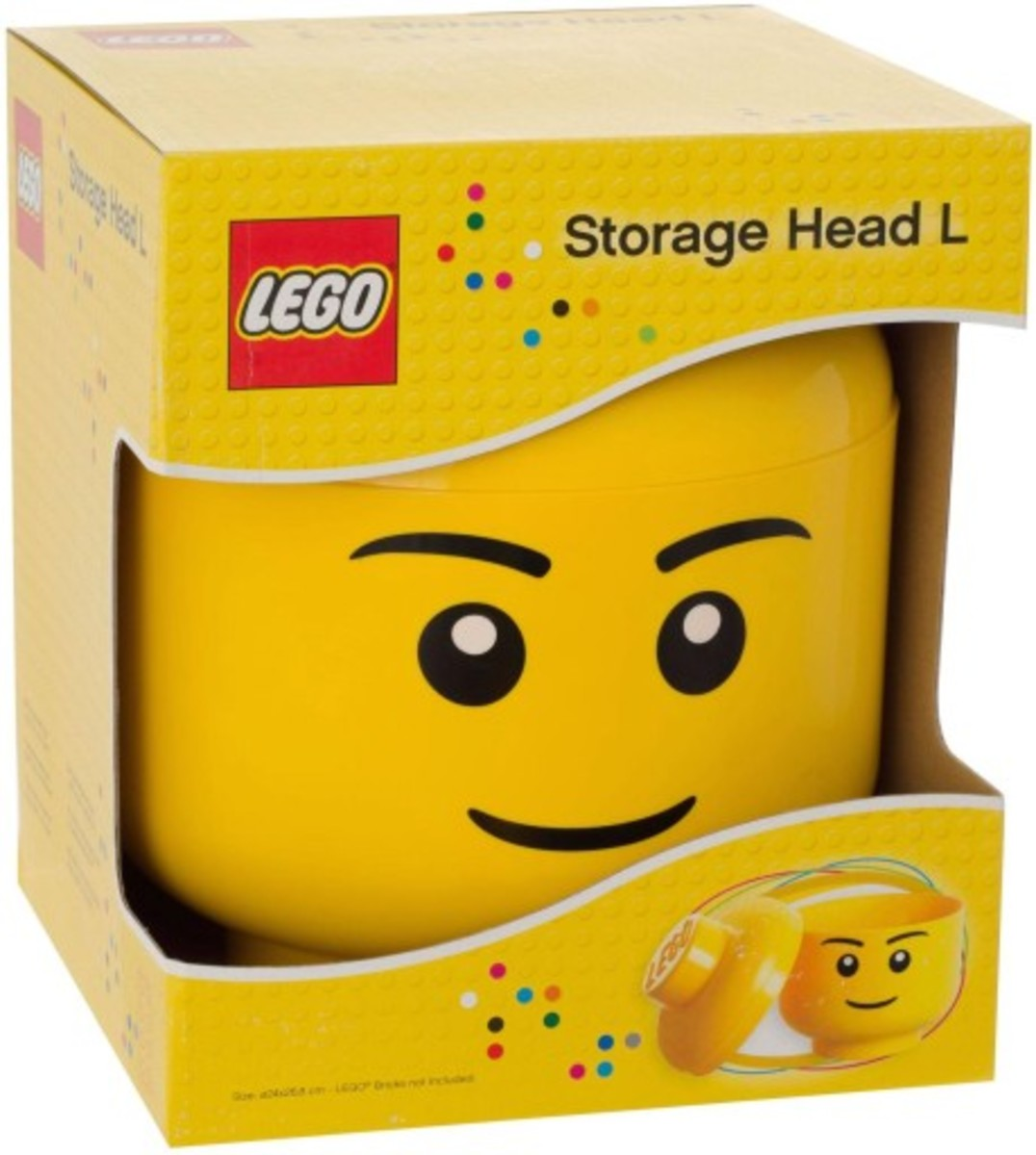 LEGO Storage Head Large BOY 儲物