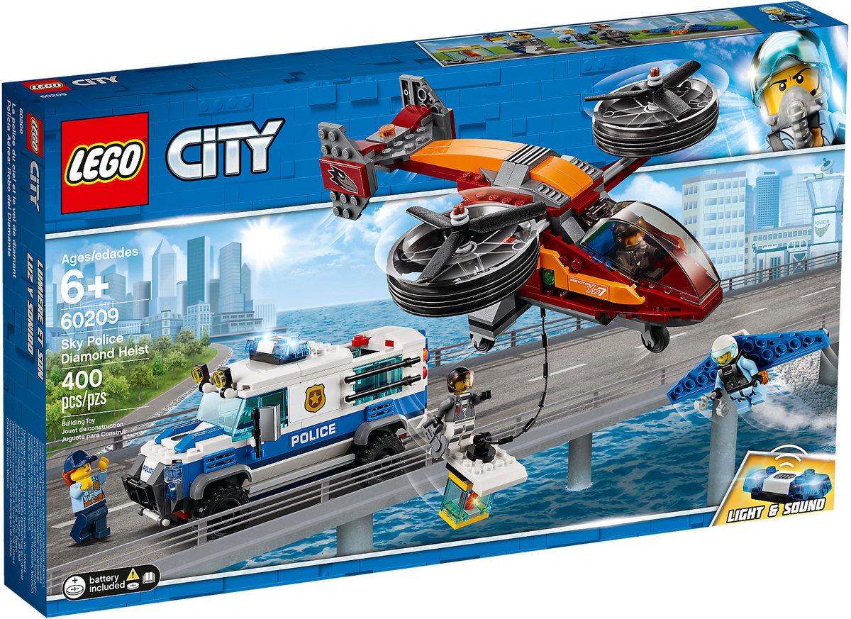 LEGO 60209 City - Sky Police Diamond Heist