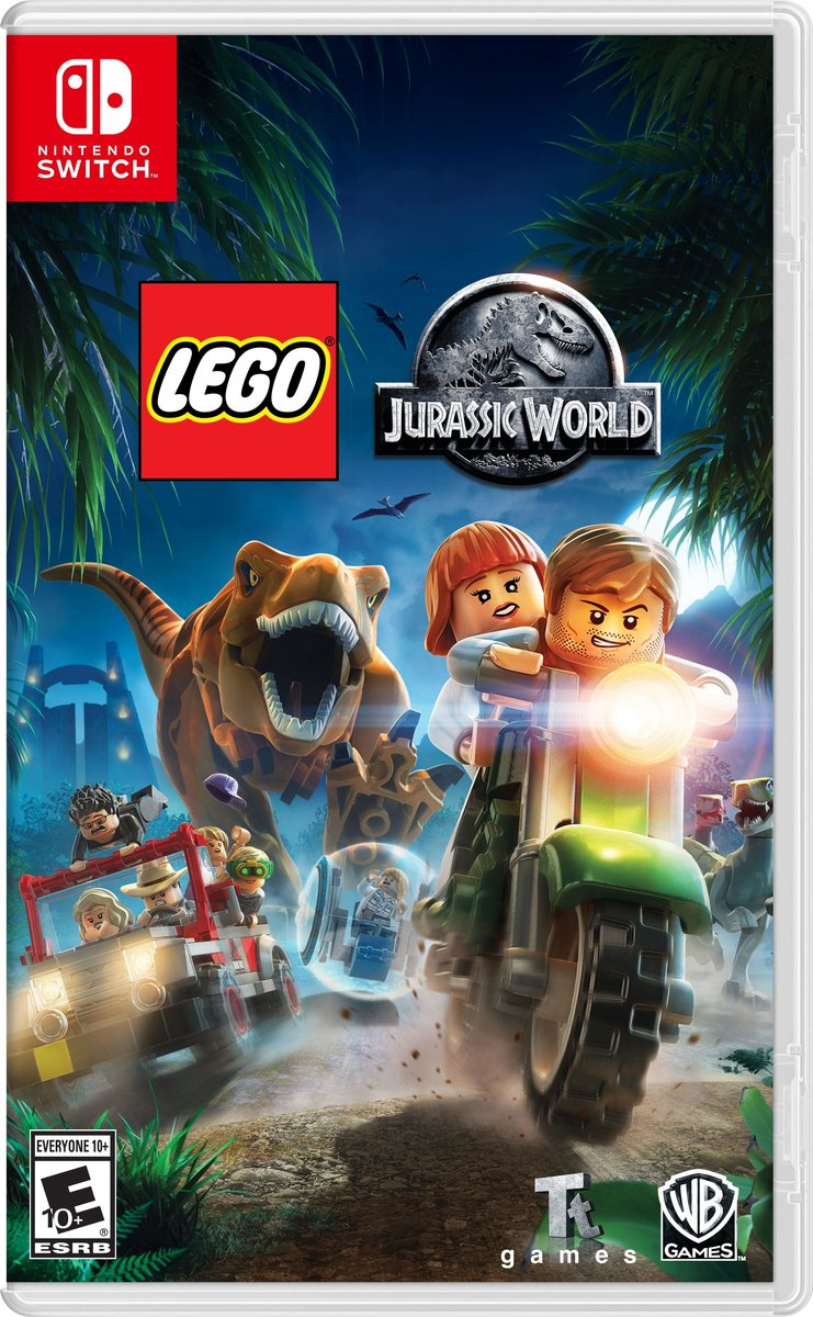 Switch Game - Lego Jurassic World Game Software