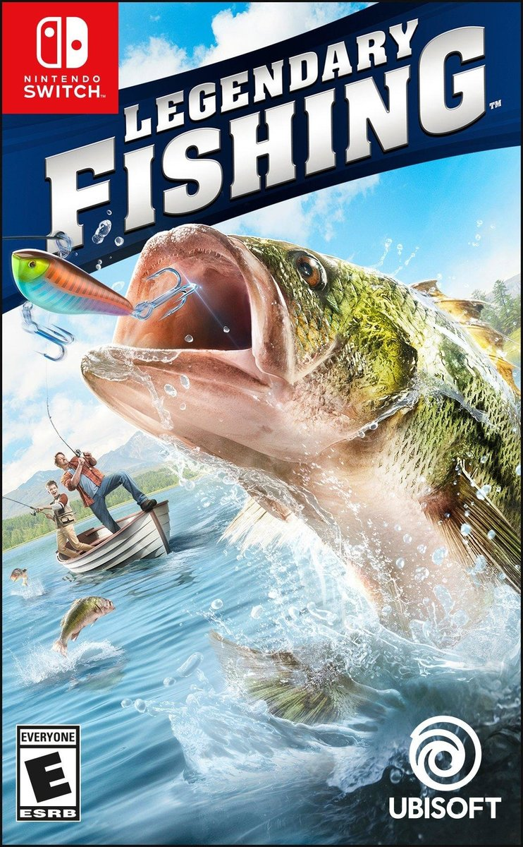 Switch Game - Legendary Fishing Game Software